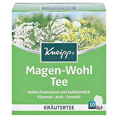 KNEIPP Tee Magen Wohl Filterbeutel 10 Stück - Vorderseite