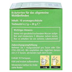 KNEIPP Tee Magen Wohl Filterbeutel 10 Stück - Linke Seite