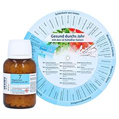 BIOCHEMIE DHU 7 Magnesium phosphoricum D 6 Tabl. + gratis DHU Schüßler-Drehscheibe 420 Stück N3