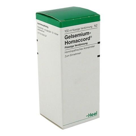 GELSEMIUM HOMACCORD Tropfen 100 Milliliter N2