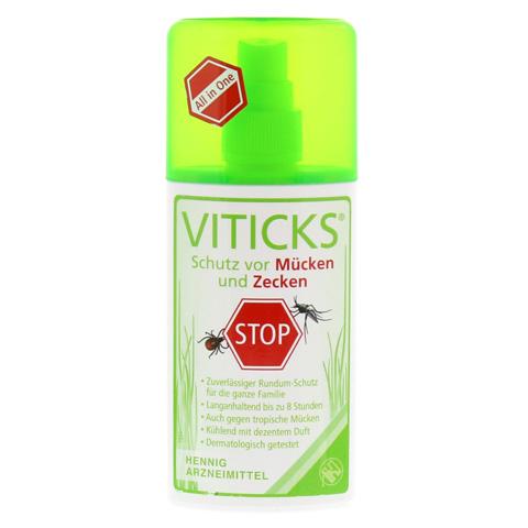 VITICKS Schutz vor Mücken u.Zecken Sprühflasche 100 Milliliter