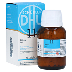 BIOCHEMIE DHU 11 Silicea D 6 Tabletten 420 Stück N3