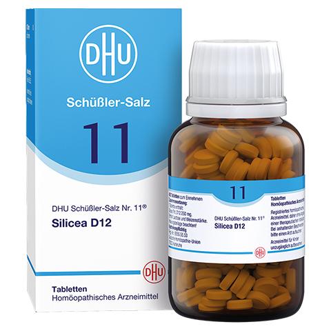 BIOCHEMIE DHU 11 Silicea D 12 Tabletten 420 Stück N3
