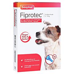 FIPROTEC 67 mg Lösung z.Auftr.f.kleine Hunde 3x0.67 Milliliter