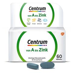CENTRUM A-Zink Tabletten 60 Stück
