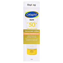Cetaphil Sun Daylong SPF 50+ liposomale 100 Milliliter - Vorderseite