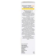 Cetaphil Sun Daylong Kids SPF 50+ Liposomale Lotion 150 Milliliter - Rechte Seite