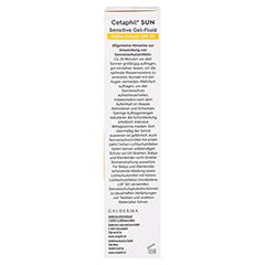 Cetaphil Sun Daylong SPF 30 Sensitives Gel-Fluid 30 Milliliter - Rechte Seite