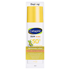 Cetaphil Sun Daylong Kids SPF 50+ Liposomale Lotion 150 Milliliter - Vorderseite