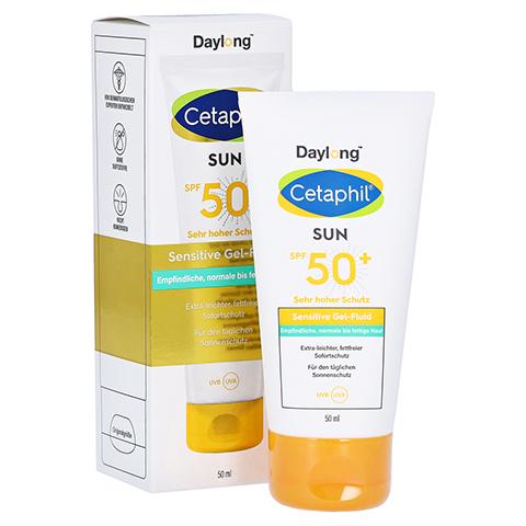 CETAPHIL Sun Daylong SPF 50+ sens.Gel-Fluid Gesich 50 Milliliter