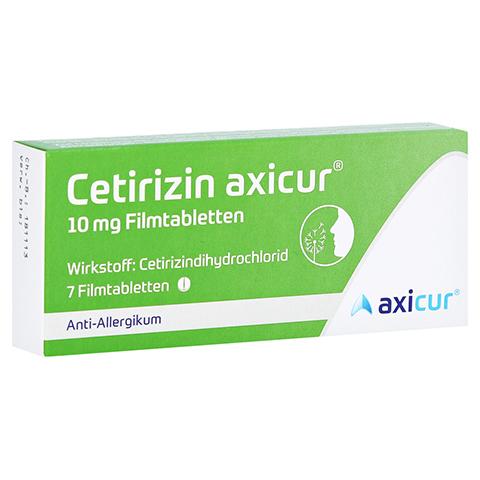 Cetirizin axicur 10mg 7 Stück