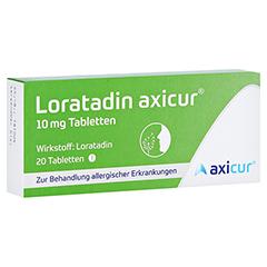 Loratadin axicur 10mg 20 Stück N1
