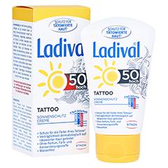 LADIVAL Tattoo Sonnenschutz Creme LSF 50 50 Milliliter