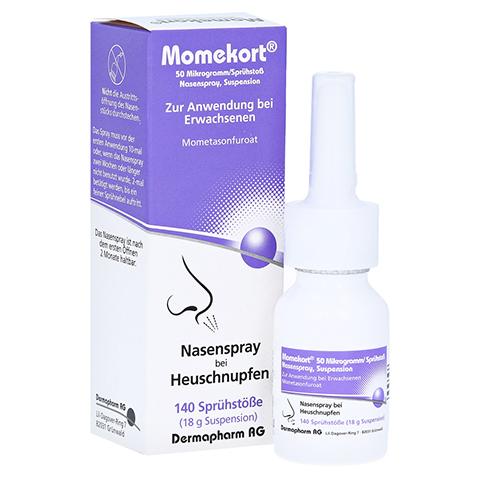 Momekort 50Mikrogramm/Sprühstoß Nasenspray 18 Gramm