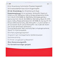 ECHINACEA QUARZ comp.Augentropfen 30x0.5 Milliliter N1 - Rückseite