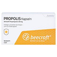 BEECRAFT Propolis Kapseln 60 Stück - Vorderseite