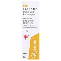 BEECRAFT Propolis Mund- und Rachenspray 15 Milliliter - Vorderseite
