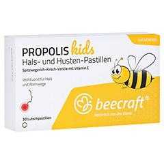 Beecraft Propolis Hals- und Husten-Pastillen 30 Stück