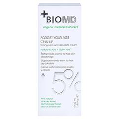 Biomed Vergiss Dein Alter Kopf Hoch Hals- und Dekolleté-Pflege 40 Milliliter - Rückseite