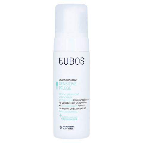 Eubos Sensitive Vital Schaum Gesichtsreinigung 150 Milliliter