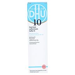 BIOCHEMIE DHU 10 Natrium sulfuricum N D 4 Salbe 50 Gramm N1 - Vorderseite