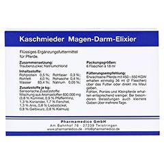 KASCHMIEDER Magen Darm vet. 6x18 Milliliter - Rückseite