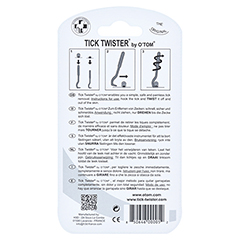 ZECKENHAKEN O Tom/Tick Twister 2 Stück - Rückseite