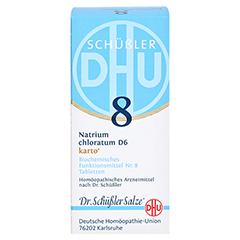 BIOCHEMIE DHU 8 Natrium chloratum D 6 Tabl.Karto 200 Stück N2 - Vorderseite