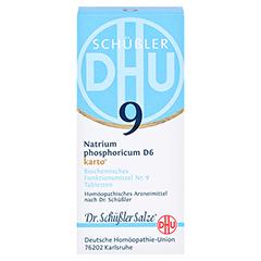 BIOCHEMIE DHU 9 Natrium phosphoricum D 6 Tab.Karto 200 Stück N2 - Vorderseite