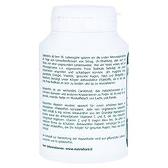 Astaxanthin 6 mg vegetarische Kapseln 120 Stück - Rechte Seite