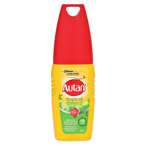 Autan Tropical Pumpspray 100 Milliliter