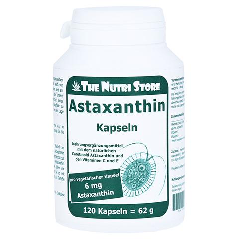 Astaxanthin 6 mg vegetarische Kapseln 120 Stück