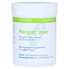 MANGAN II MSE Tabletten 120 Stück
