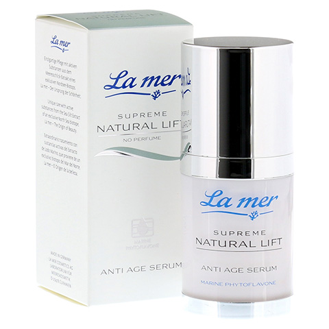 LA MER SUPREME Natural Lift Anti Age Serum ohne Parfüm 30 Milliliter