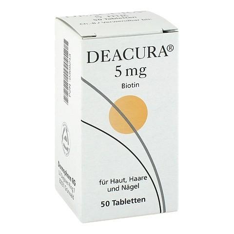 DEACURA 5 mg Tabletten 50 St�ck N2