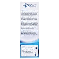 Licener Gegen Kopfläuse Shampoo 100 Milliliter - Rückseite