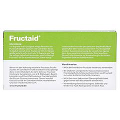 Fructaid Kapseln 30 Stück - Rückseite