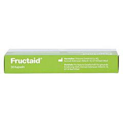 Fructaid Kapseln 30 Stück - Oberseite