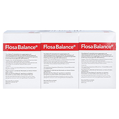 Flosa Balance Granulat Beutel 90x5.5 Gramm - Rückseite
