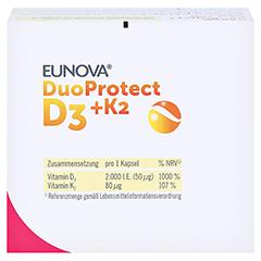 EUNOVA DuoProtect D3+K2 2.000 I.E. 90 Stück - Oberseite