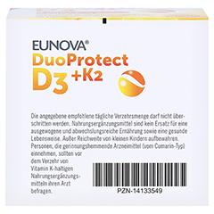 EUNOVA DuoProtect D3+K2 2.000 I.E. 90 Stück - Unterseite