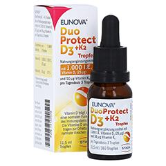 Eunova Duoprotect D3+k2 1000 I.E./50 µg Tropfen 11.5 Milliliter