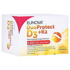EUNOVA DuoProtect D3+K2 4.000 I.E. 90 Stück
