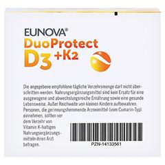 EUNOVA DuoProtect D3+K2 4.000 I.E. 90 Stück - Unterseite