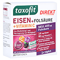 Taxofit Eisen+folsäure Direkt-granulat 20 Stück