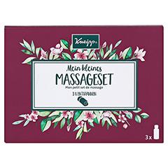 KNEIPP Geschenkpackung Mein kleines Massageset 3x20 Milliliter - Vorderseite