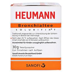 HEUMANN Bronchialtee SOLUBIFIX T 30 Gramm - Rechte Seite