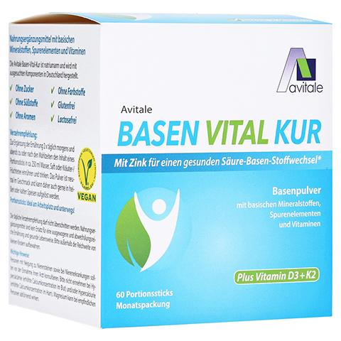 BASEN VITAL KUR plus Vitamin D3+K2 Pulver 60 Stück