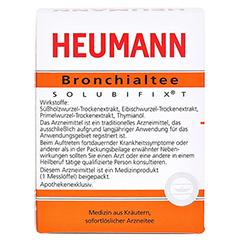 HEUMANN Bronchialtee SOLUBIFIX T 30 Gramm - Rückseite
