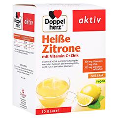 Doppelherz aktiv Heiße Zitrone mit Vitamin C + Zink 10 Stück